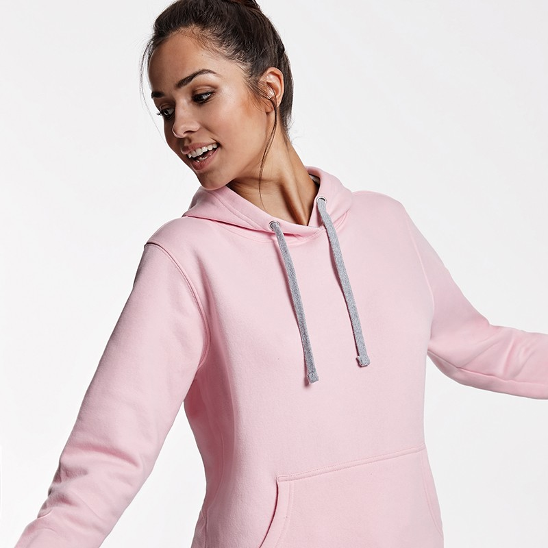 Sweat-shirt Femme OIR1068 - Rose clair