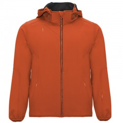 Softshell OIR6428  - Orange - Doublure noire