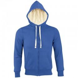 Veste zippée OIS00584 - Bleu royal