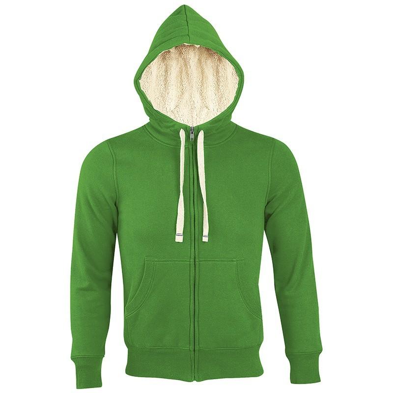 Veste zippée OIS00584 - Vert bourgeon