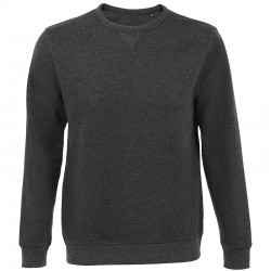 Sweat-shirt OIS02990 - Anthracite chiné