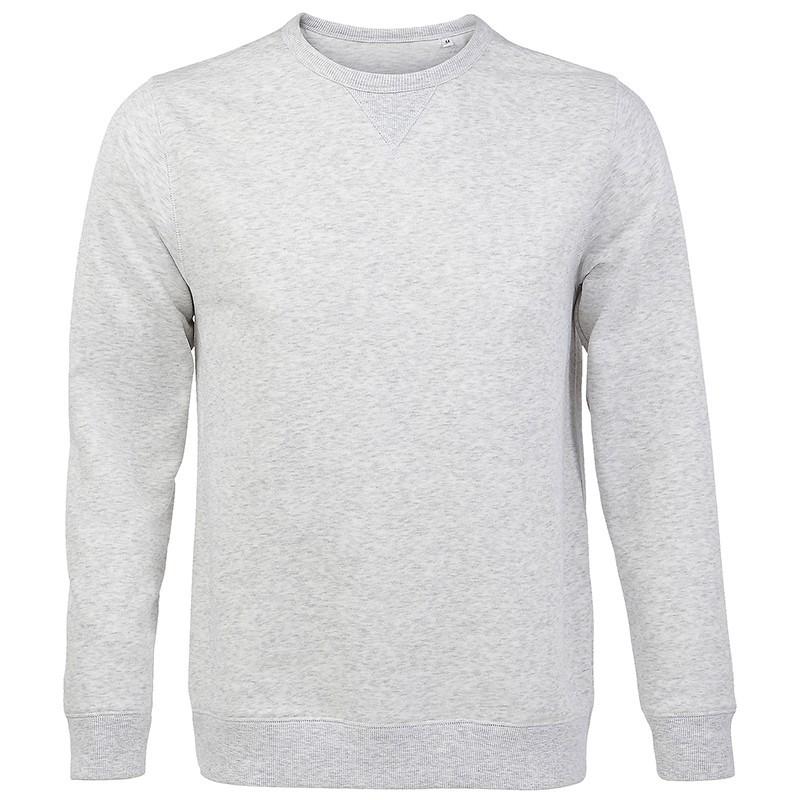 Sweat-shirt OIS02990 - Blanc chiné