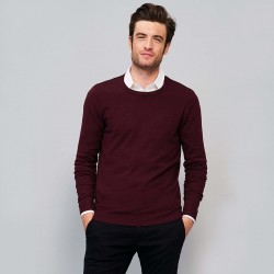 Pull-over OIS01712  - Oxblood