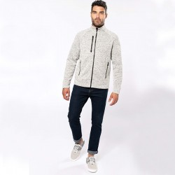 Veste zippée OIK9106 - Light Grey